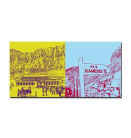 ART-DOMINO® BY SABINE WELZ Leinwandbild - Ägypten - 092-07