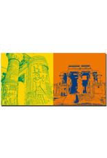 ART-DOMINO® BY SABINE WELZ Ägypten - Kom Ombo-Säulen + Kom Ombu-Zwillingstempel
