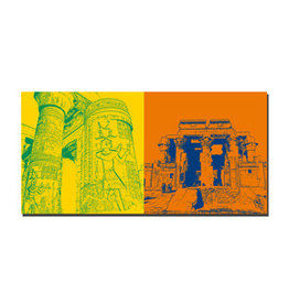 ART-DOMINO® BY SABINE WELZ Leinwandbild - Ägypten - 092-08