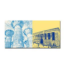 ART-DOMINO® BY SABINE WELZ Leinwandbild - Ägypten - 092-10