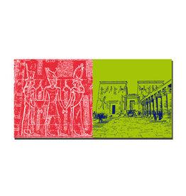 ART-DOMINO® BY SABINE WELZ Leinwandbild - Ägypten - 092-11