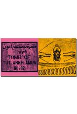 ART-DOMINO® BY SABINE WELZ Ägypten - Tal der Könige - Grab des Tutanchamun + Tal der Könige - Scarabäus im Grab von Ramses IX