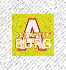 ART-DOMINO® BY SABINE WELZ Magnet - Aschaffenburg - 00