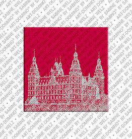 ART-DOMINO® BY SABINE WELZ Magnet - Aschaffenburg - 01