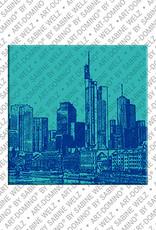 ART-DOMINO® BY SABINE WELZ Frankfurt – Skyline 1