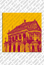 ART-DOMINO® BY SABINE WELZ Frankfurt – Oper 1