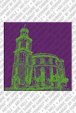 ART-DOMINO® BY SABINE WELZ Frankfurt – Paulskirche