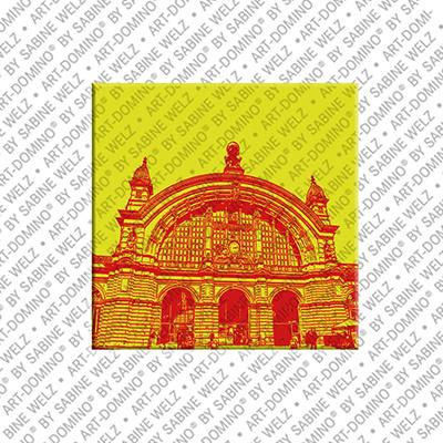 ART-DOMINO® BY SABINE WELZ Frankfurt – Hauptbahnhof