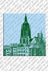 ART-DOMINO® BY SABINE WELZ Frankfurt – Kaiserdom