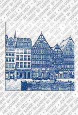 ART-DOMINO® BY SABINE WELZ Frankfurt – Ostzeile am Römerberg 2