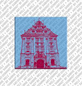 ART-DOMINO® BY SABINE WELZ Magnet - Gotha - 01