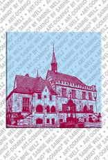 ART-DOMINO® BY SABINE WELZ Göttingen – Rathaus