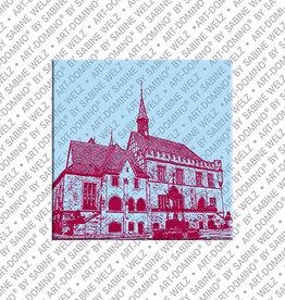 ART-DOMINO® BY SABINE WELZ Magnet - Göttingen - 02