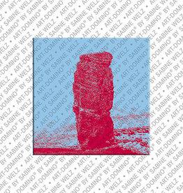 ART-DOMINO® BY SABINE WELZ Magnet - Helgoland - 01