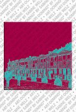 ART-DOMINO® BY SABINE WELZ Helgoland – Hummerbuden 1