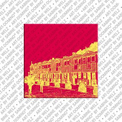 ART-DOMINO® BY SABINE WELZ Helgoland – Hummerbuden 2