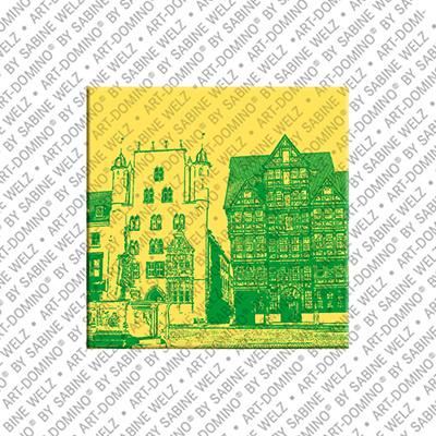 ART-DOMINO® BY SABINE WELZ Hildesheim – Marktplatz