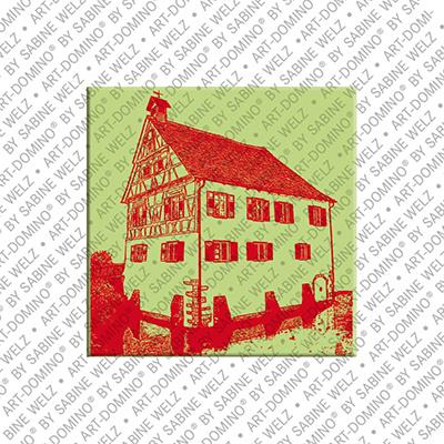 ART-DOMINO® BY SABINE WELZ Holzgerlingen – Kleines Wasserschloss 1