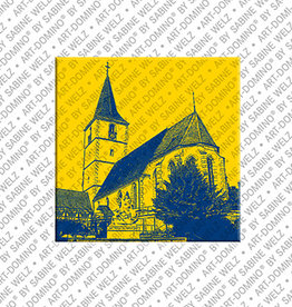 ART-DOMINO® BY SABINE WELZ Magnet - Holzgerlingen - 04