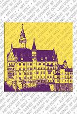 ART-DOMINO® BY SABINE WELZ Neuschwanstein – Schloss Neuschwanstein 1