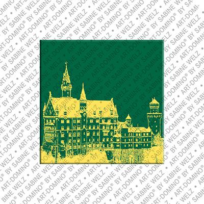 ART-DOMINO® BY SABINE WELZ Neuschwanstein – Schloss Neuschwanstein 2
