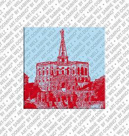 ART-DOMINO® BY SABINE WELZ Magnet - Kassel - 01