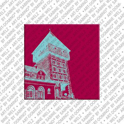 ART-DOMINO® BY SABINE WELZ Konstanz – Rheintorturm