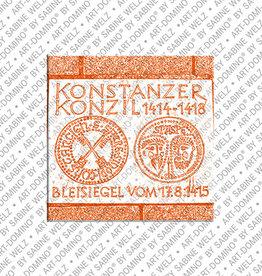 ART-DOMINO® BY SABINE WELZ Magnet - Konstanz - 05