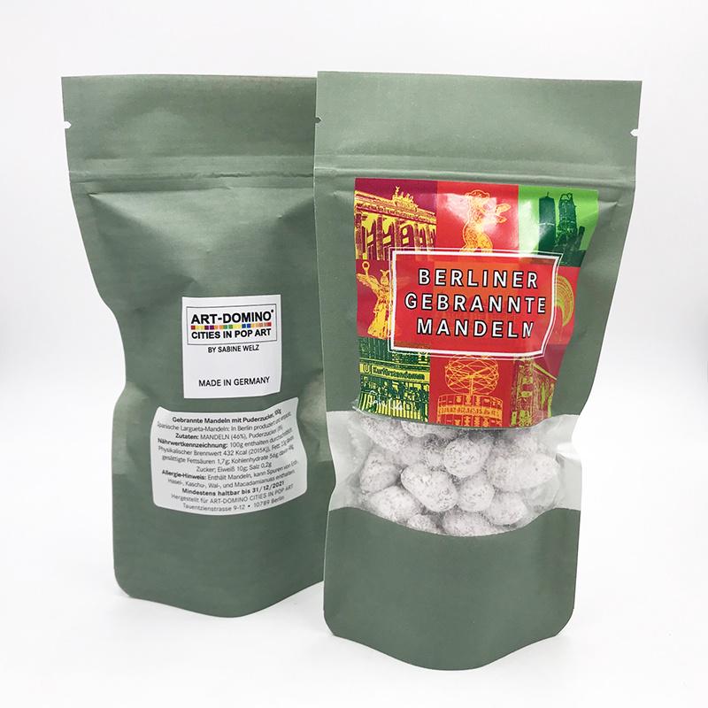 ART-DOMINO® BY SABINE WELZ Roasted Berlin almonds with powdered sugar