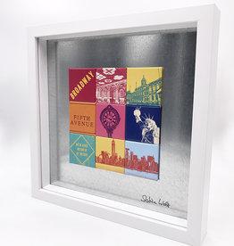 ART-DOMINO® BY SABINE WELZ MAGNETBILD - NEW YORK - 9-03