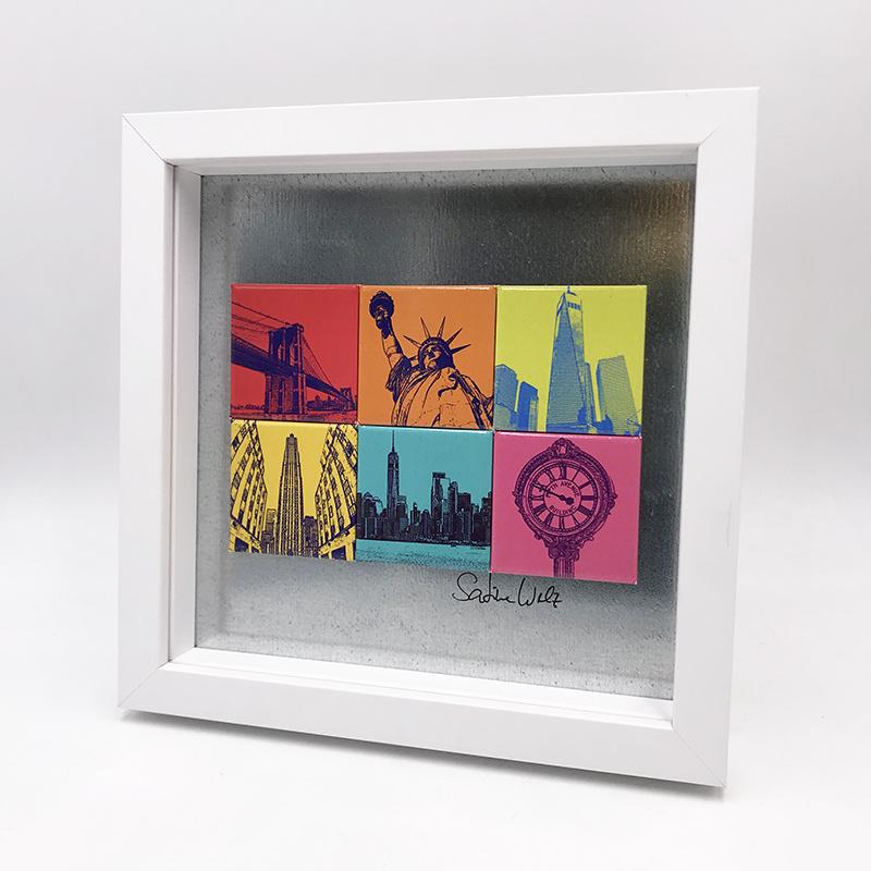ART-DOMINO® BY SABINE WELZ New York - Motif Mix 6-01