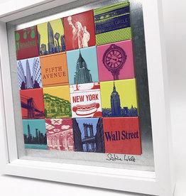 ART-DOMINO® BY SABINE WELZ MAGNETBILD - NEW YORK - 16-02