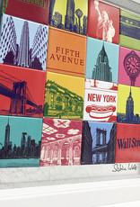 ART-DOMINO® BY SABINE WELZ New York - Collage - 16-02