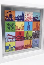 ART-DOMINO® BY SABINE WELZ Regensburg - Collage - 16-01