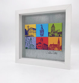 ART-DOMINO® BY SABINE WELZ MAGNETBILD - Regensburg - MOTIV-MIX 6-01