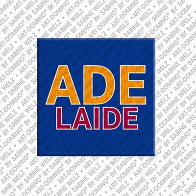 ART-DOMINO® BY SABINE WELZ Adelaide – Schriftzug
