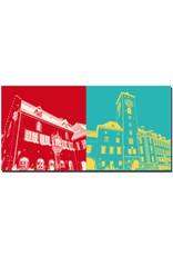 ART-DOMINO® BY SABINE WELZ Regensburg - Altes Rathaus + Rathaus