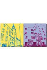 ART-DOMINO® BY SABINE WELZ Regensburg - Dreieinigkeitskirche + Goliathhaus