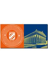 ART-DOMINO® BY SABINE WELZ Regensburg - Bodendeckel Bayern + Walhalla