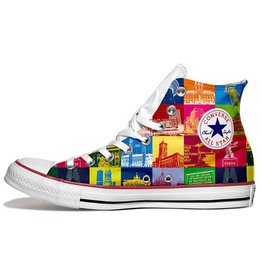 ART-DOMINO® BY SABINE WELZ Chucks - Mit Berlin-Motiven