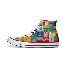 ART-DOMINO® BY SABINE WELZ Chucks - Mit Paris-Motiven