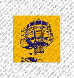 ART-DOMINO® BY SABINE WELZ Magnet - Berlin - 104