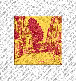 ART-DOMINO® BY SABINE WELZ Magnet - Kitzbühel - 02