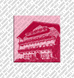 ART-DOMINO® BY SABINE WELZ Magnet - Reit im Winkl- 01