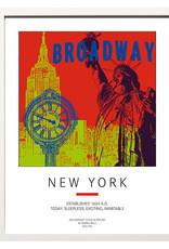 ART-DOMINO® BY SABINE WELZ Poster - New York