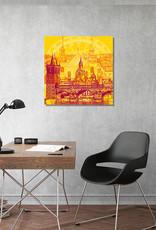 ART-DOMINO® BY SABINE WELZ Prag - Stadt-Collage