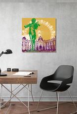 ART-DOMINO® BY SABINE WELZ Wien - Stadt-Collage