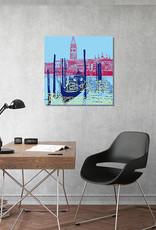 ART-DOMINO® BY SABINE WELZ Venedig - Stadt-Collage