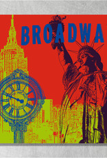 ART-DOMINO® BY SABINE WELZ New York - Stadt-Collage
