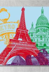 ART-DOMINO® BY SABINE WELZ Paris - City-Collage
